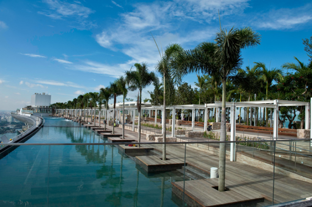 Marina bay sands 5 deluxe ics travel group - The sky pool a deluxe adventure ...