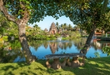 Lagoon Near Balinese Theater