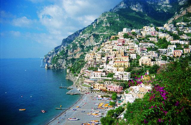 Италия амальфитанское побережье